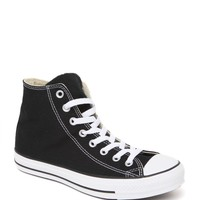 Converse All Star High Top Black Sneakers - Womens Shoes - Black