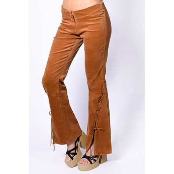 Deadstock Dharma Laced Bottom Flares