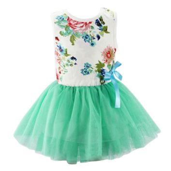 Baby Clothing 2018 Baby Girl Dress Summer Princess Infant Party Dresses for Girls Kids Dress Baby Clothes