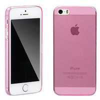 Matte Slim Hard Silicone Gel Case Cover Skin For Apple Mobile iPhone 5 5S