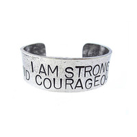 Strong and Courageous Cuff