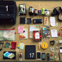 Flight 001 – Where Travel Begins.  Flight Log - Inside A Flight Attendant's Carry-on