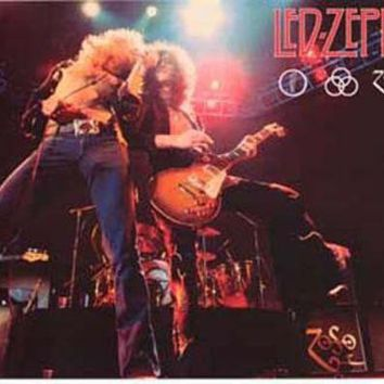 LMFON1O Led Zeppelin Live Poster 11x17 Day First