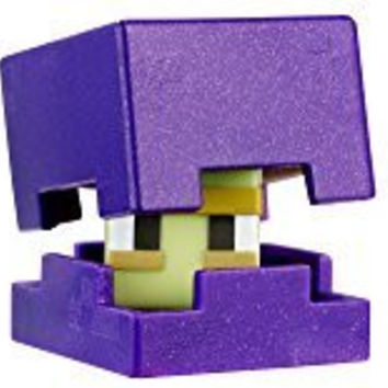 Minecraft Mini Figure (3 Pack) - Shulker Steve with Shield Skullfire Wither