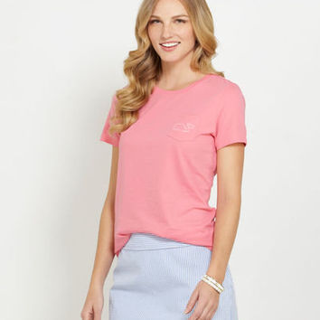 Women's Tees: Whale Poolside Pocket Tee for Women - Vineyard Vines