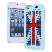 Cool The Union Jack Sliding Hard Cover Case For Iphone 4/4s/5