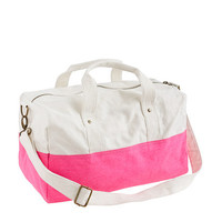 Canvas overnight bag - bags - Girl's Shop By Category - J.Crew
