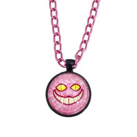 Cat Necklace - Cheshire Cat - Twisted Pixies