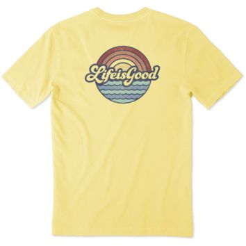 Men's Beachy Life is Good Crusher Tee