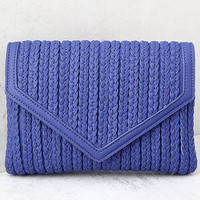 Party Partner Blue Clutch