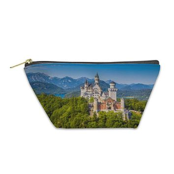 Accessory Pouch, Neuschwanstein Fairytale Castle Near Fussen Bavaria Germany
