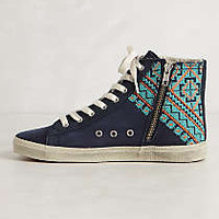 Embroidered High-Tops