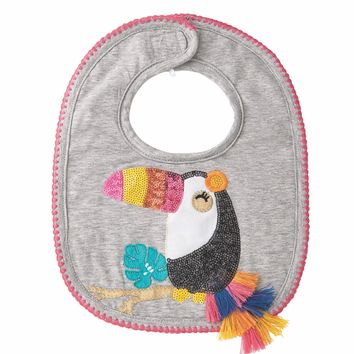 MUD PIE TOUCAN BIB