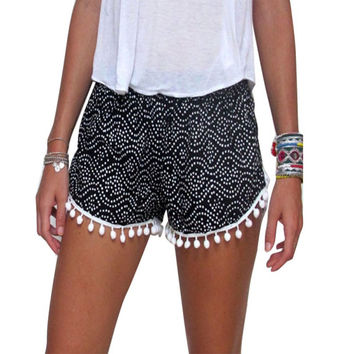 Summer Casual Shorts High Waist Short Beach