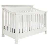 Million Dollar Baby Classic Foothill 4-in-1 Convertible Crib in Dove White