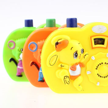 Cute Animal Baby Kids Children Learning Study Plastic Toy Projection Simulation Digital Camera Eduional Toys