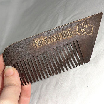 Beard comb Wooden Comb for beard Combs Gift for dad Gift for him Comb wooden hair comb Hair comb Idea for gift Dad gift Combs