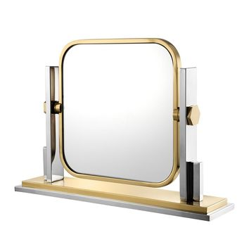 Gold Table Mirror | Eichholtz Carmen
