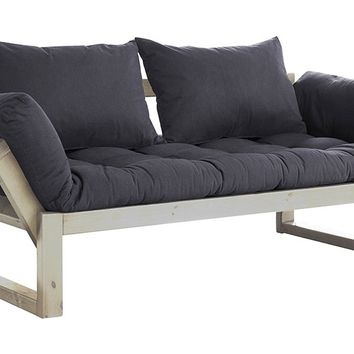 MONOQI | Edge Sofa - Pine/Dark Grey