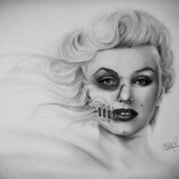 Marilyn Monroe Art Print by Kit King | Society6