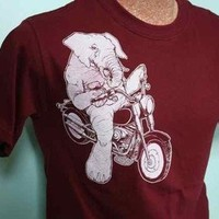 HEAVY RIDER Mens TeeSM MD LG XL by spaghettikiss on Etsy