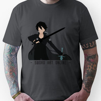 Kirito from Sword Art Online Unisex T-Shirt