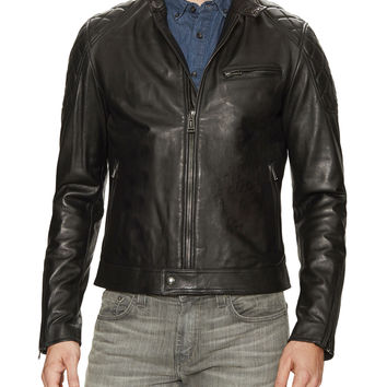 Belstaff Men's Capo Leather Braxton Jacket - Open Miscellaneous -
