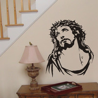 Jesus wall sticker - Crown of Thorns wall decal