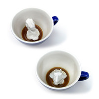 Yumi Yumi: Dinosaur Creature Cup Set Blue, at 27% off!