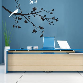 Vinyl Wall Decal Sticker Springtime Branch #1010