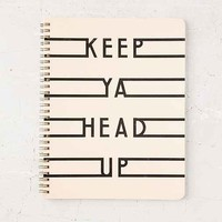 Keep Ya Head Up Notebook