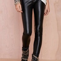 Blank NYC Blacked Out Vegan Leather Pant