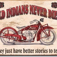 Tin Sign -Indian -Better Stories