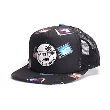 4711185dfe272 Vans Surf Patch Trucker (Hank Bank) Hat
