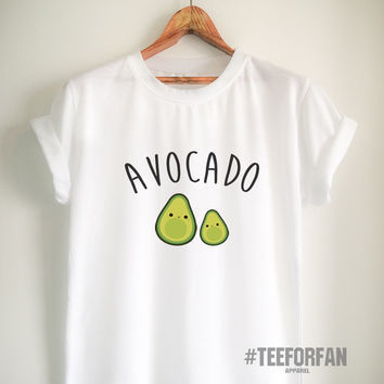 Vegan Shirt Vegan T Shirt Avocado Shirt Avocado T Shirt Vegan Merch Unisex Women Girls Men Tumblr Vegetarian Top Tee White/Grey/Black/Red