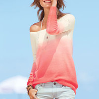Cut-off Boyfriend Short & Dip-dye Sweater - Victoria's Secret