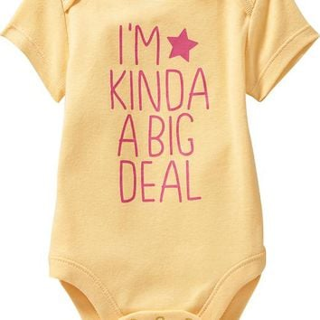 Old Navy Graphic Bodysuits For Baby