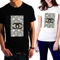 Coco Chanel Glitter Painting - Tshirt for man shirt, woman shirt XS / S / M / L / XL / 2XL / 3XL /4XL / 5XL *02*