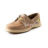 Womens Sperry Top-Sider Bluefish Boat Shoe, TanCabana Floral  Journeys Shoes