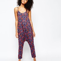 Chelsea Peers Patterned Slouchy Jumpsuit