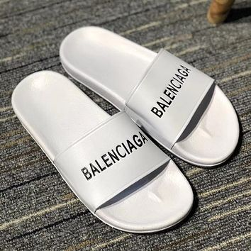 Balenciaga Woman Men Fashion Casual Slipper Sandals Shoes