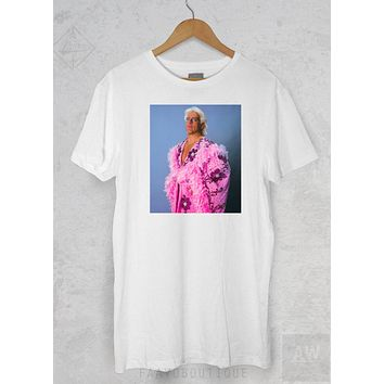 Ric Flair Wooo P 2WWF WWE Wrestlemania GraphiC Tee Unisex T Shirt