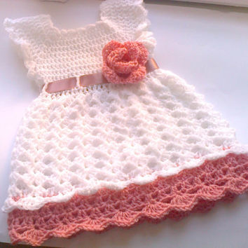 Crochet Baby Dress Pattern Pdf Crochet From Justpattern On Etsy