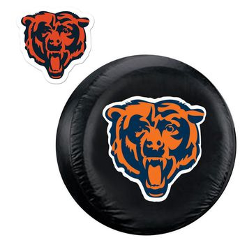 Chicago Bears NFL Spare Tire Cover and Grille Logo Set (Large)