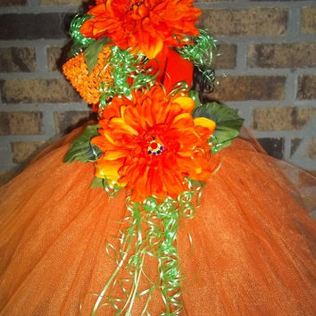 Perfect Pumpkin-Halloween-Fall Wedding-Flower Girl-Trick-or-Treat-Cute-Unique-Fun-Photo-Picture-Baby,Infant,Toddler-Girl