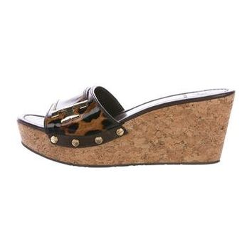 Pamela Wedge Sandals