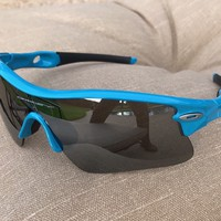 Columbus Blue Oakley Sunglasses