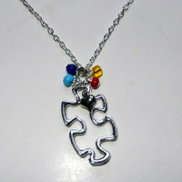 Autism Charm Necklace