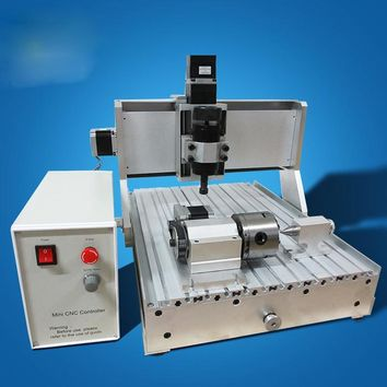 Wood CNC Router Engraving Machine 500W Air Cooling Drilling lathe