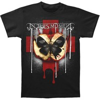 In This Moment Men's  Rotten Apple T-shirt Black